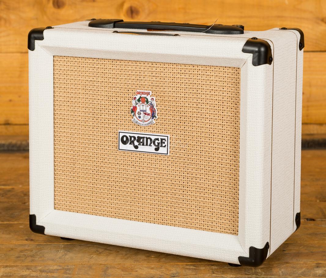 orange ltd ed 50th ann crush 20w amp peach guitars. Black Bedroom Furniture Sets. Home Design Ideas