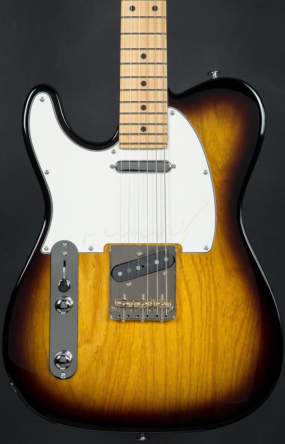 Suhr Classic T Pro 2tsb Maple Neck L H Peach Guitars