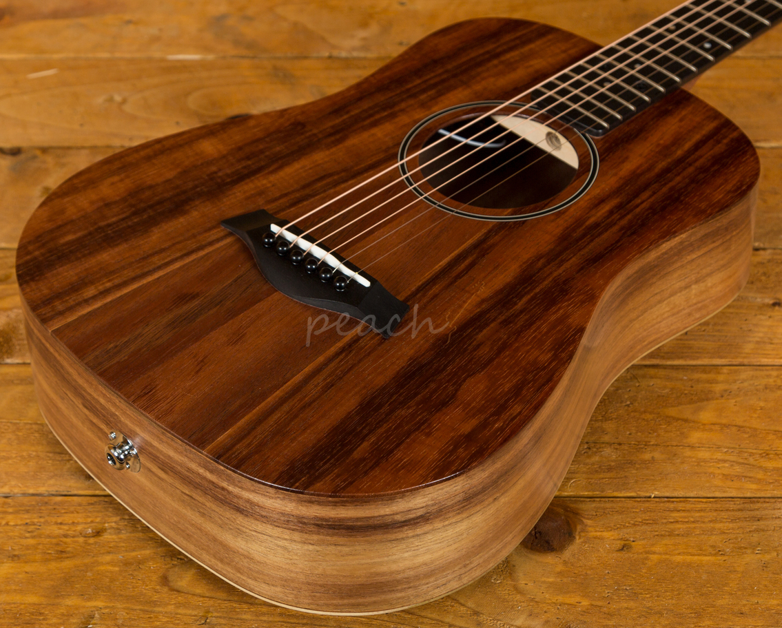Taylor Bte Koa Baby Electro Acoustic Peach Guitars