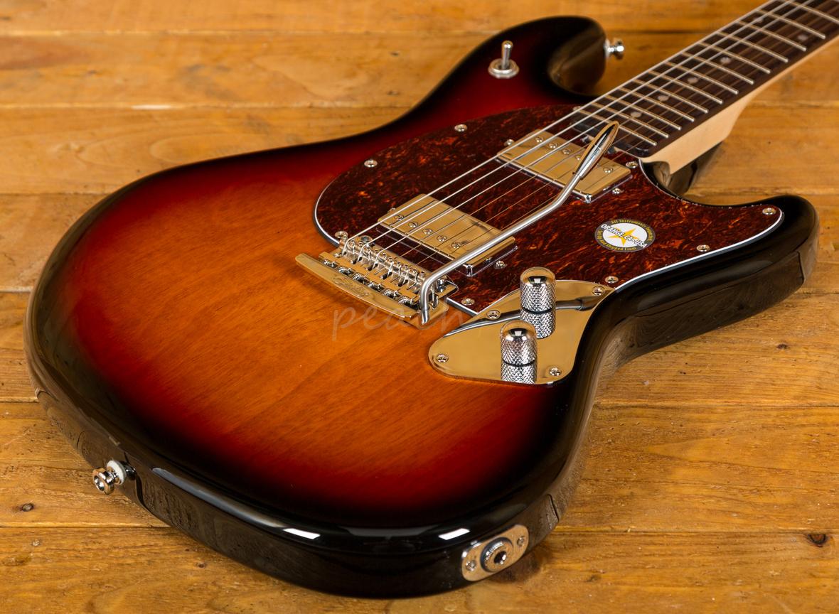 music man sterling stingray sr50 in 3 tone sunburst peach guitars. Black Bedroom Furniture Sets. Home Design Ideas
