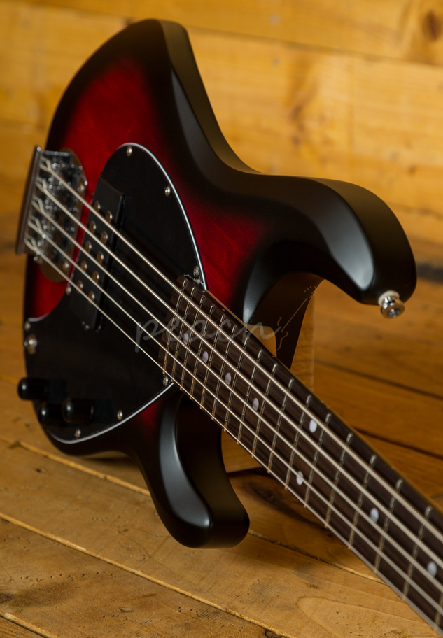 music man sterling sub ray 5 bass ruby peach guitars. Black Bedroom Furniture Sets. Home Design Ideas