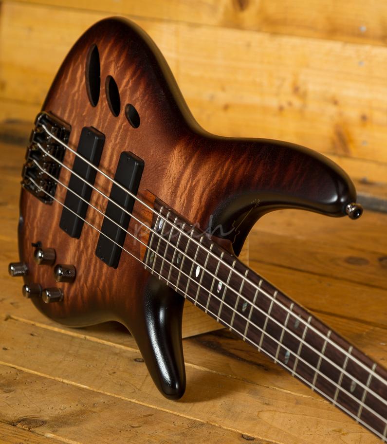 ibanez sr30th4 nnf 4 string bass natural browned burst flat peach guitars. Black Bedroom Furniture Sets. Home Design Ideas