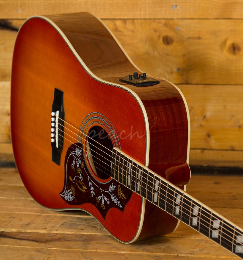 epiphone hummingbird pro electroacoustic peach guitars. Black Bedroom Furniture Sets. Home Design Ideas