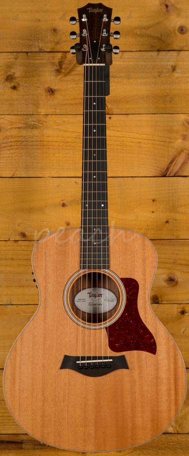 taylor gs mini e mahogany acoustic guitar peach guitars. Black Bedroom Furniture Sets. Home Design Ideas