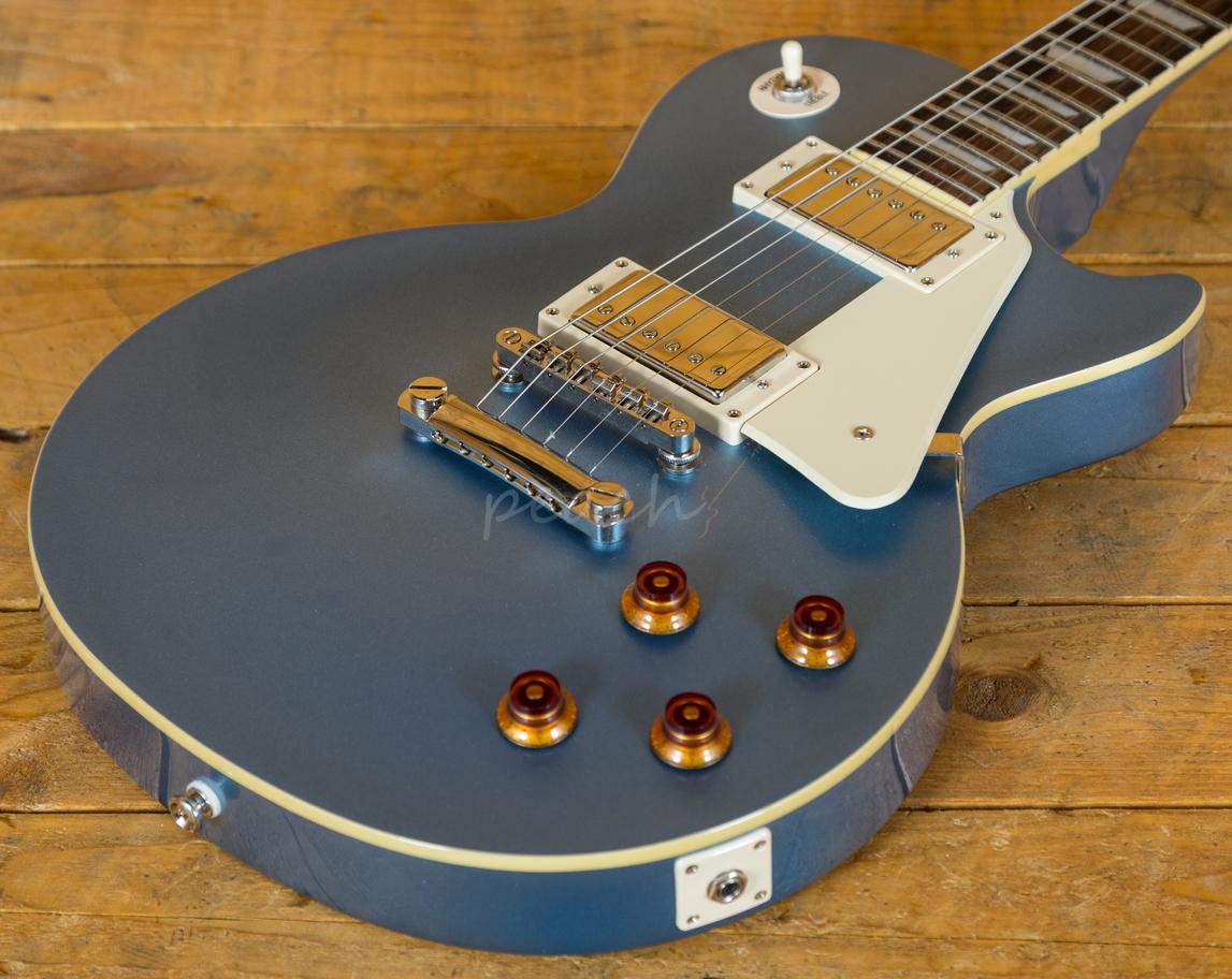epiphone les paul standard pelham blue peach guitars. Black Bedroom Furniture Sets. Home Design Ideas
