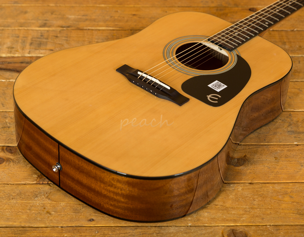 epiphone pro 1 acoustic guitar natural peach guitars. Black Bedroom Furniture Sets. Home Design Ideas