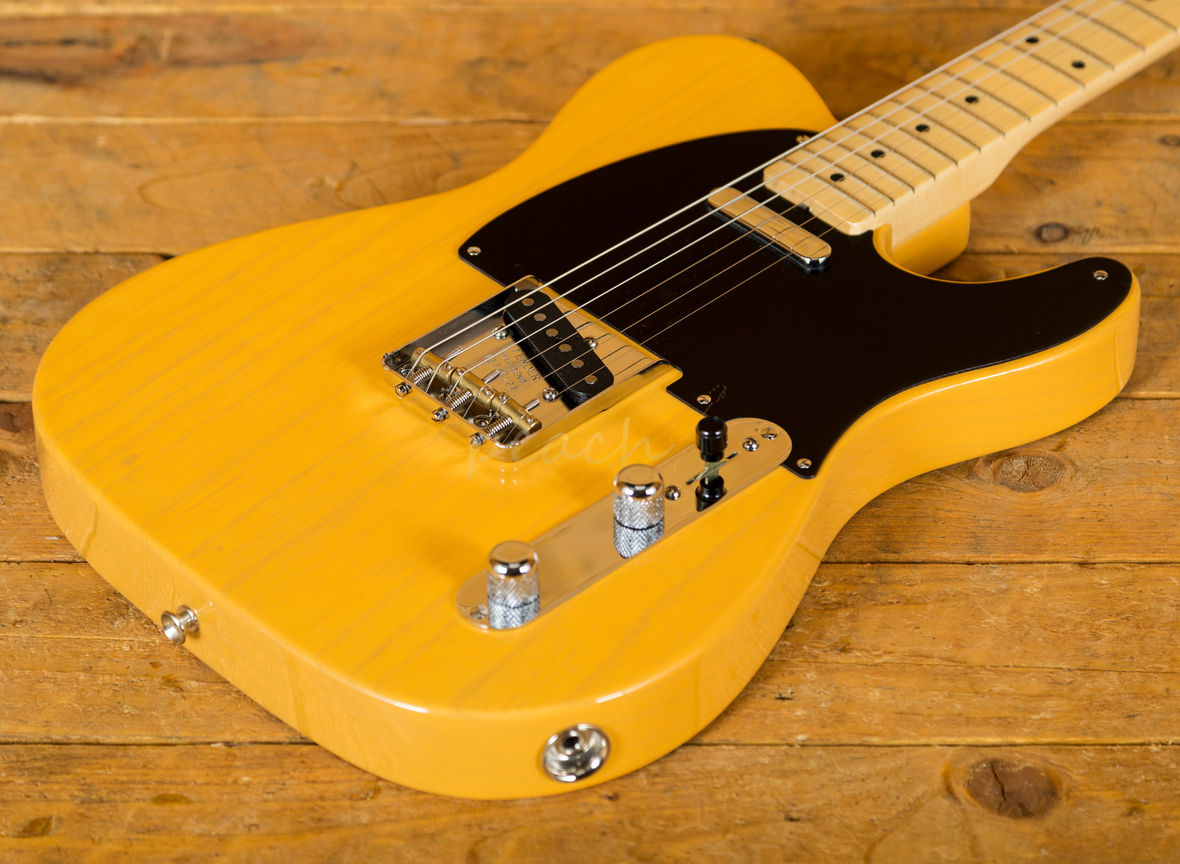 fender american original 39 50s telecaster butterscotch blonde peach guitars. Black Bedroom Furniture Sets. Home Design Ideas