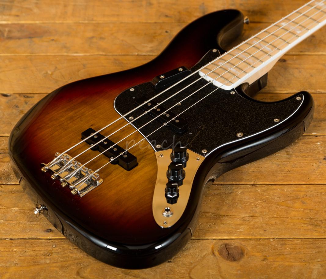 fender original 39 70s jazz bass 3 colour sb peach guitars. Black Bedroom Furniture Sets. Home Design Ideas