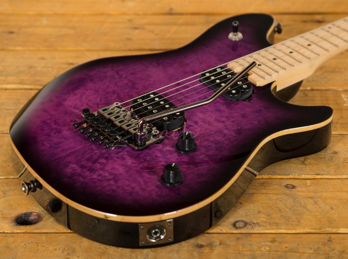 evh wolfgang wg standard trans purple burst peach guitars. Black Bedroom Furniture Sets. Home Design Ideas