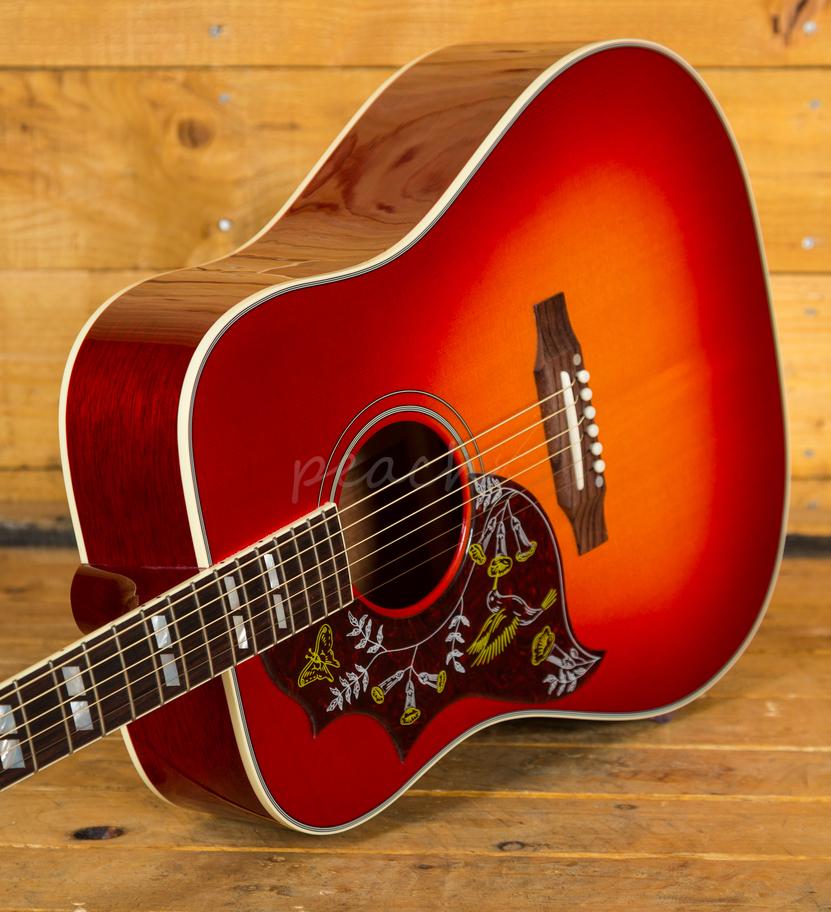 gibson 2018 hummingbird vintage cherry sunburst left handed peach guitars. Black Bedroom Furniture Sets. Home Design Ideas