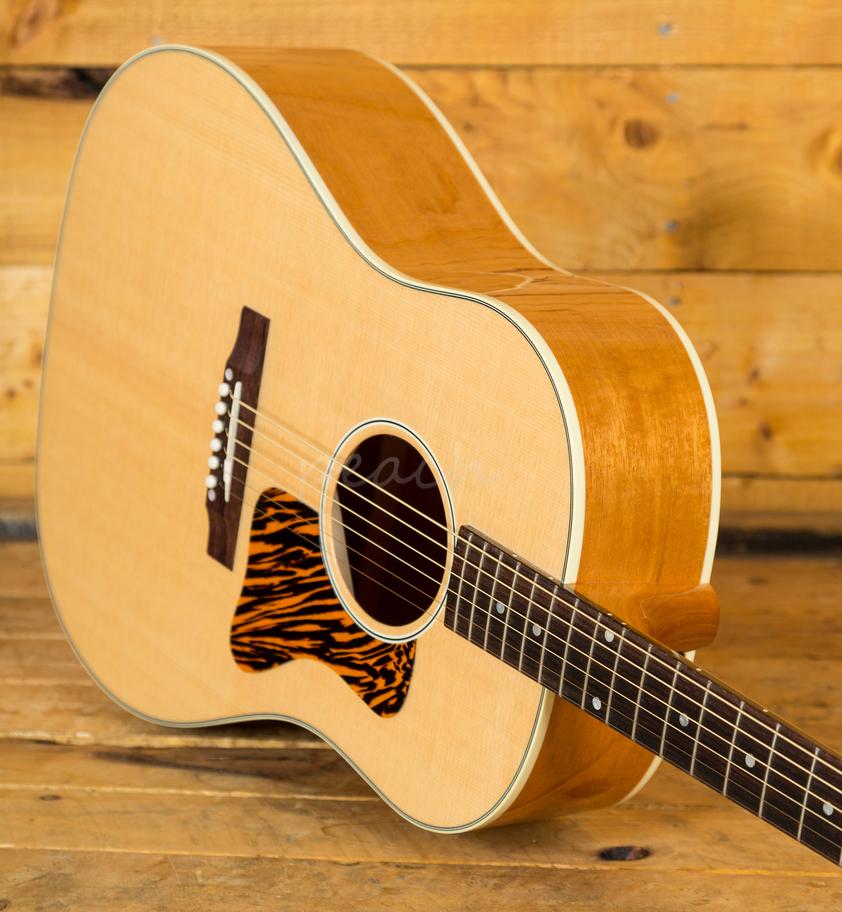 gibson 2018 j 35 electro acoustic guitar antique natural peach guitars. Black Bedroom Furniture Sets. Home Design Ideas