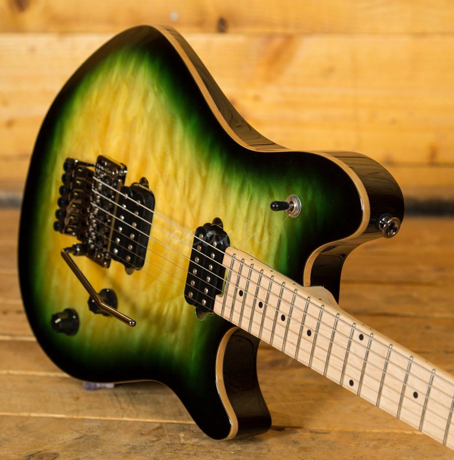 evh wolfgang standard maple fingerboard zilla burst peach guitars. Black Bedroom Furniture Sets. Home Design Ideas