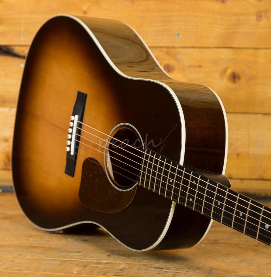 sigma sig jm sg45 w fishman sonitone peach guitars. Black Bedroom Furniture Sets. Home Design Ideas