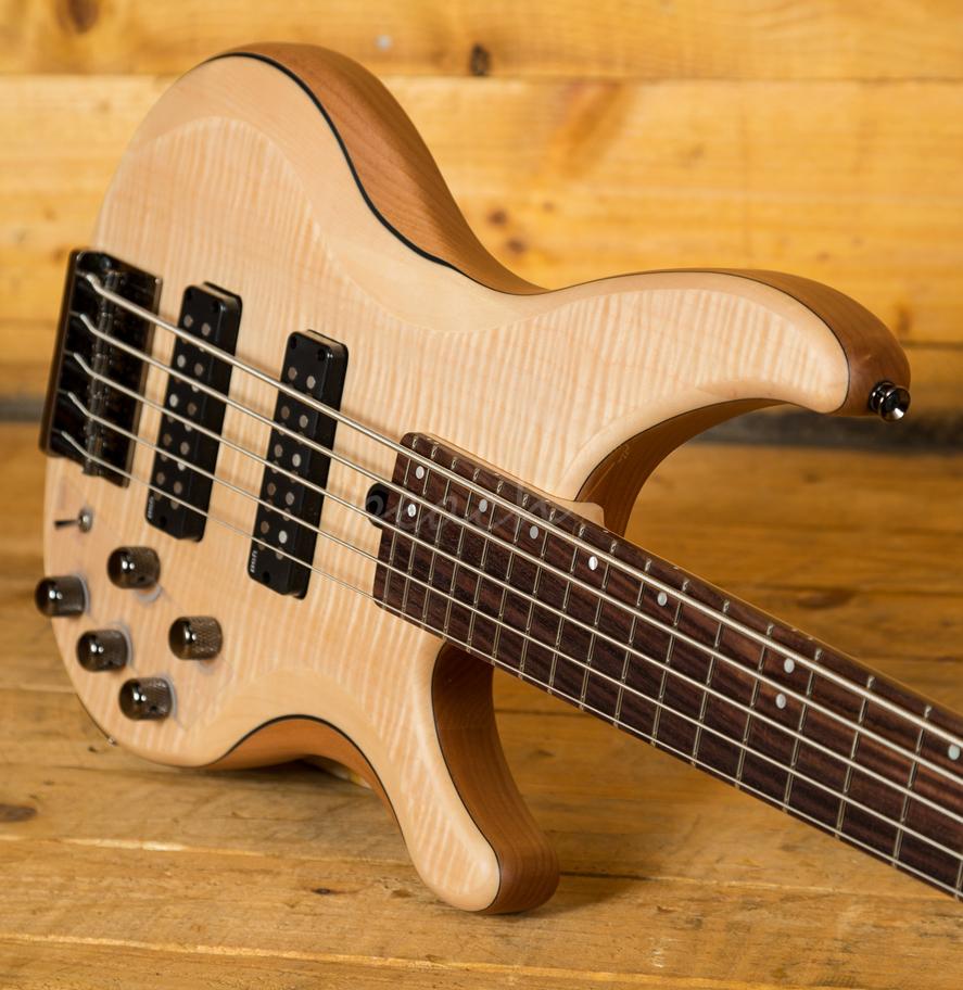 yamaha trbx605fm 5 string natural satin peach guitars. Black Bedroom Furniture Sets. Home Design Ideas