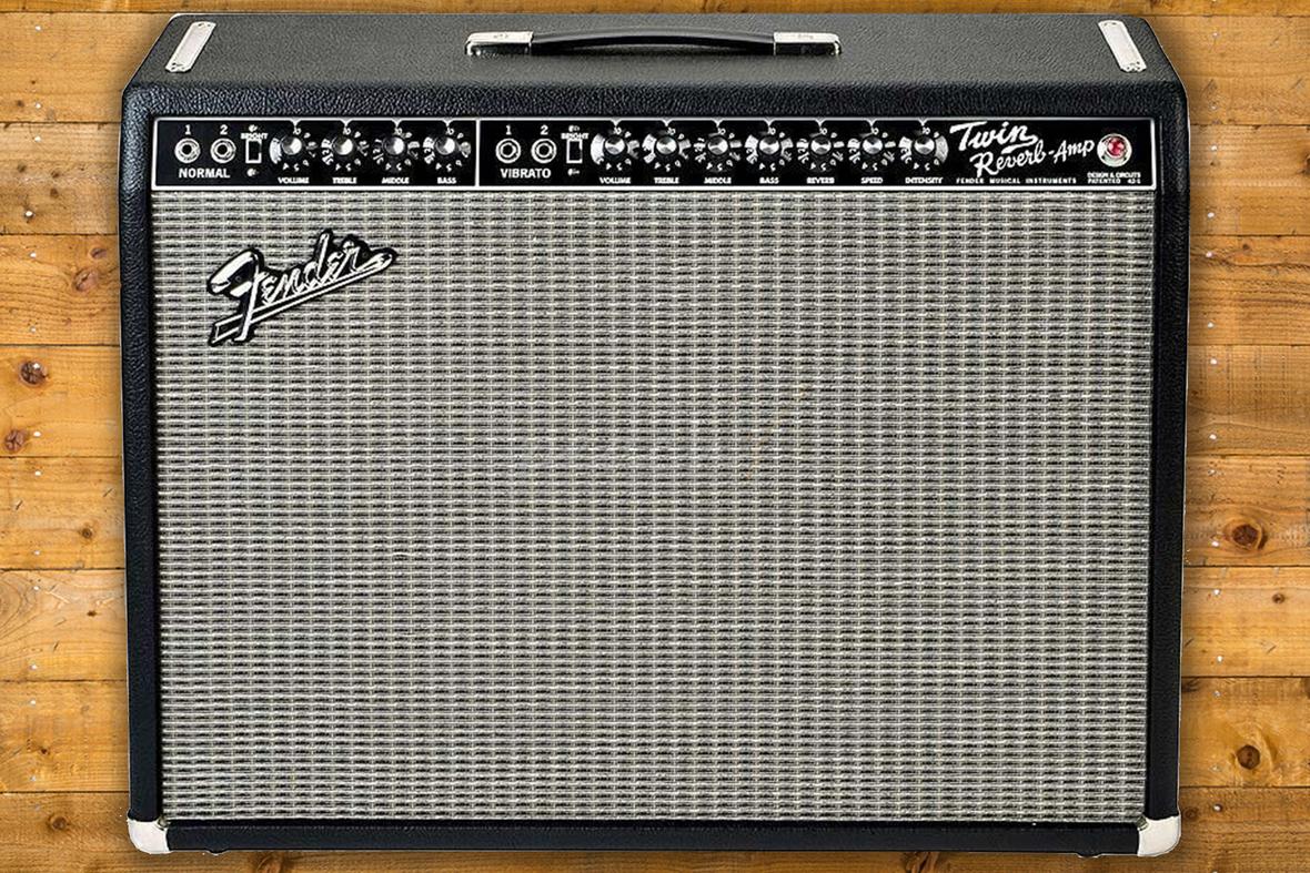 Fender 65 Twin Reverb Reissue Peach Guitars