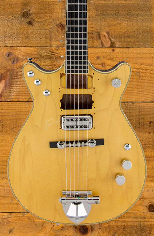 gretsch g6131 my malcolm young signature jet peach guitars. Black Bedroom Furniture Sets. Home Design Ideas