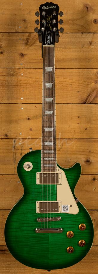 epiphone les paul standard plustop pro green burst peach guitars. Black Bedroom Furniture Sets. Home Design Ideas