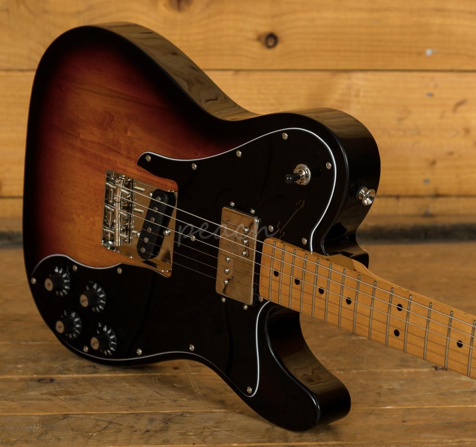 squier classic vibe 70s tele custom maple neck 3tsb peach guitars. Black Bedroom Furniture Sets. Home Design Ideas