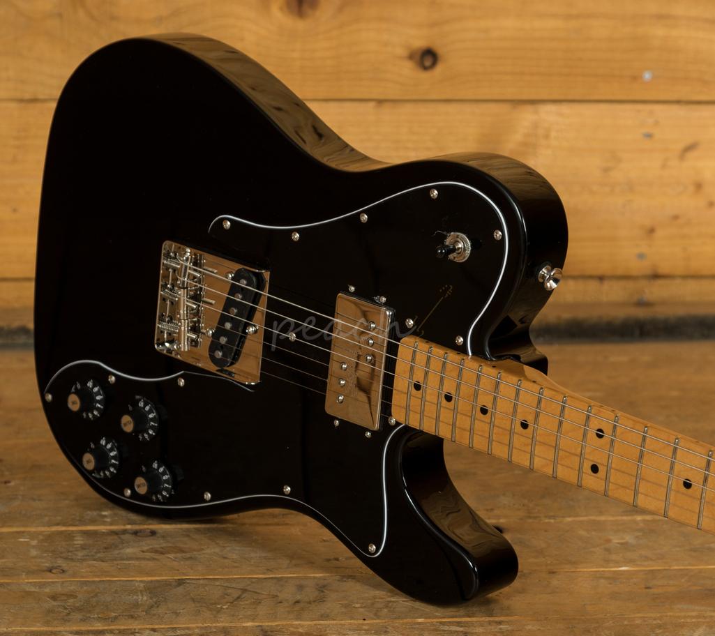 squier classic vibe 70s tele custom black peach guitars. Black Bedroom Furniture Sets. Home Design Ideas