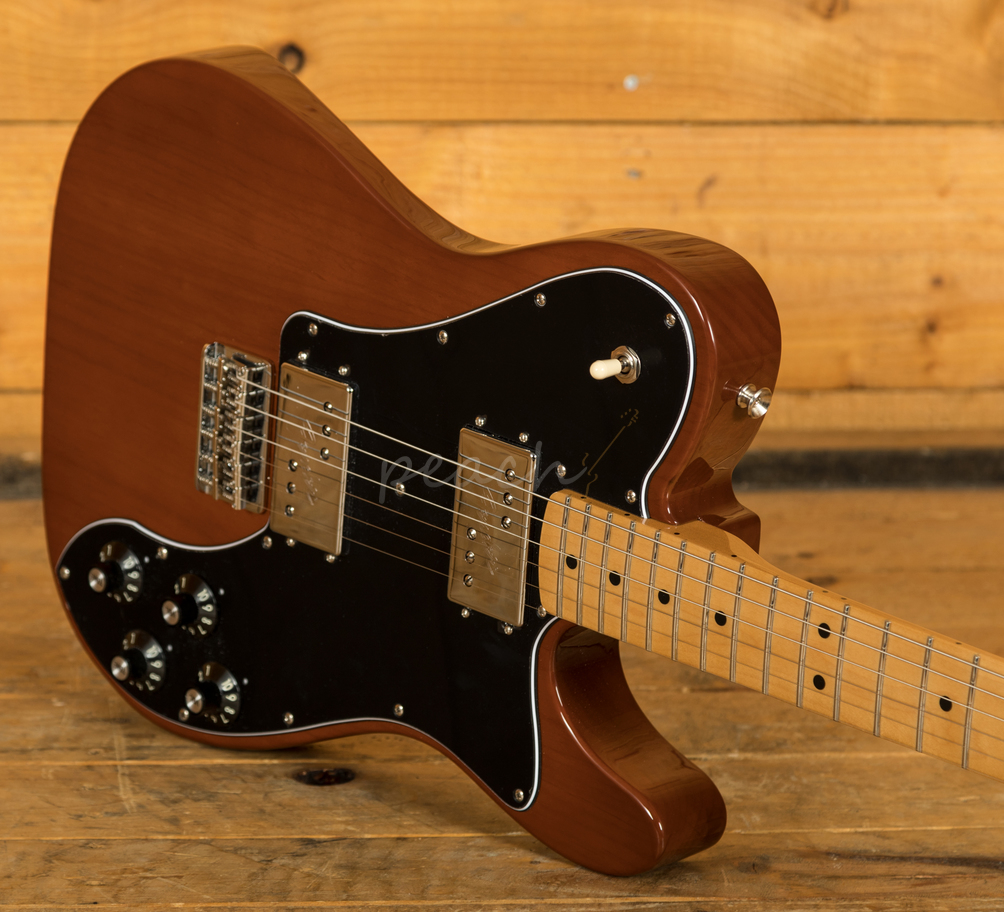 fender vintera 70s tele maple neck mocha peach guitars. Black Bedroom Furniture Sets. Home Design Ideas