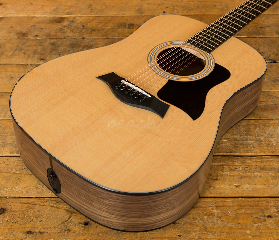 taylor 150e 12 string electro acoustic peach guitars. Black Bedroom Furniture Sets. Home Design Ideas