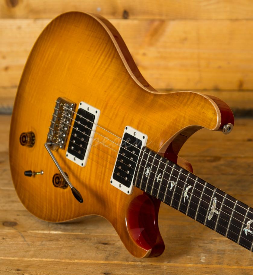 prs custom 22 mccarty sunburst peach guitars. Black Bedroom Furniture Sets. Home Design Ideas