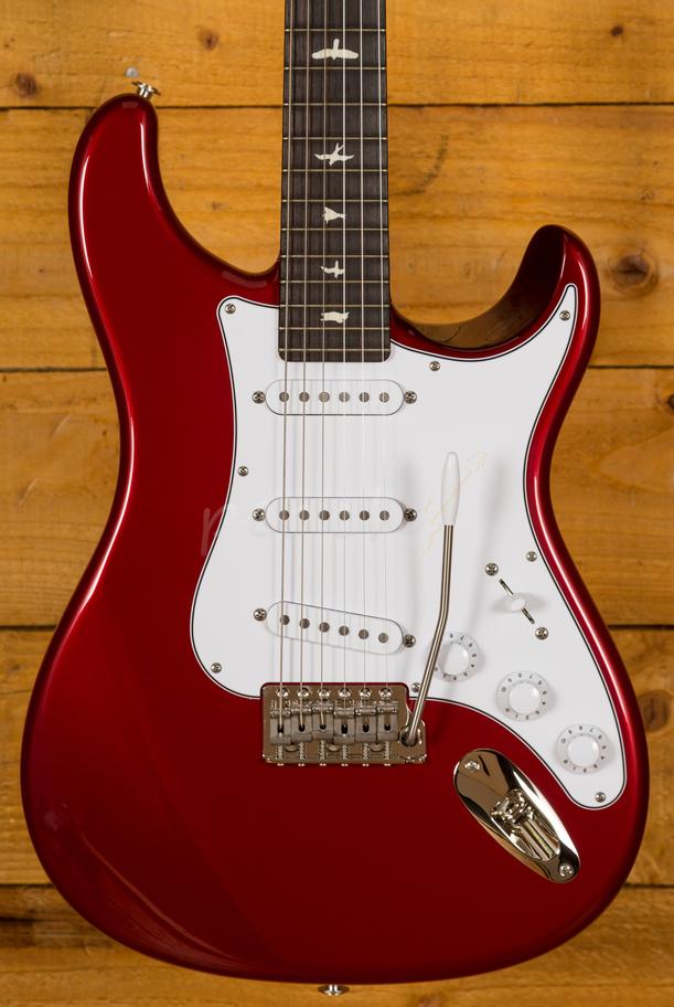 Prs John Mayer Silver Sky Horizon Peach Guitars