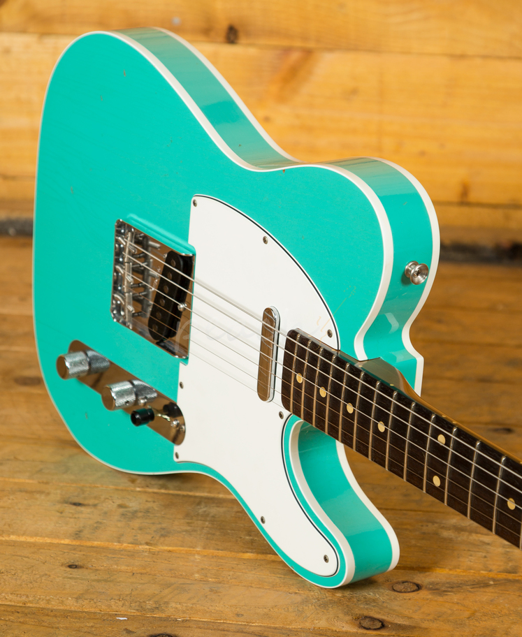 fender cs 60 tele custom jrn seafoam peach guitars. Black Bedroom Furniture Sets. Home Design Ideas