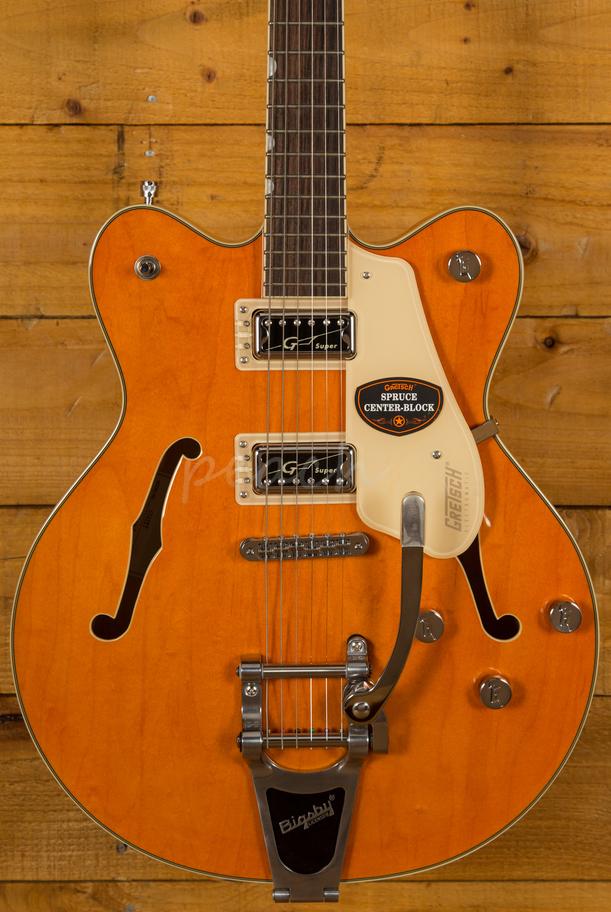 gretsch g5622t centre block vntg orange peach guitars. Black Bedroom Furniture Sets. Home Design Ideas