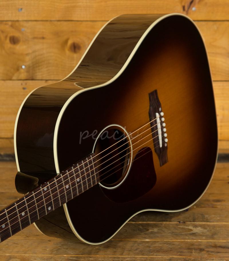 gibson 2019 j 45 standard vintage sb l h peach guitars. Black Bedroom Furniture Sets. Home Design Ideas