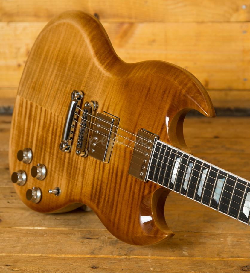 gibson usa 2018 sg standard hp mojave fade used peach guitars. Black Bedroom Furniture Sets. Home Design Ideas