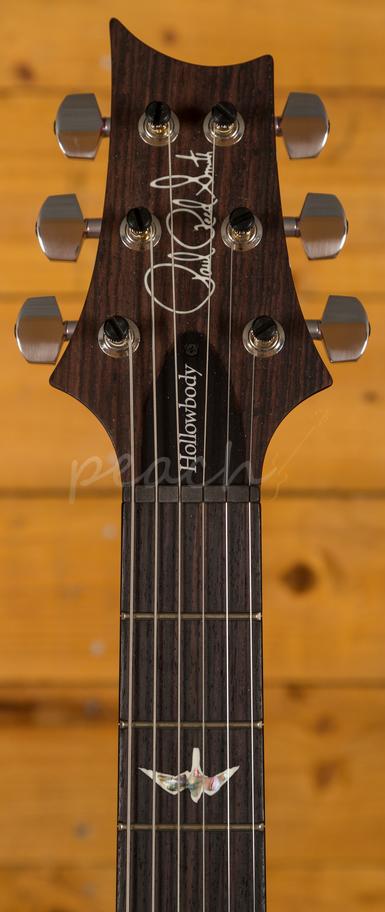 prs hollowbody ii piezo charcoal cherryburst 58 15 peach guitars. Black Bedroom Furniture Sets. Home Design Ideas