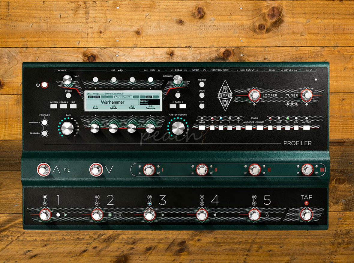 New Kemper Profiler pedal leaked at music festival - FX Discussions