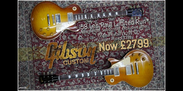 Gibson 58 Les Paul Limited Run