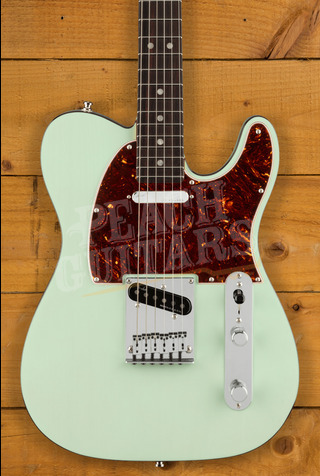 Fender Ultra LUXE Tele Rosewood Transparent Surf Green