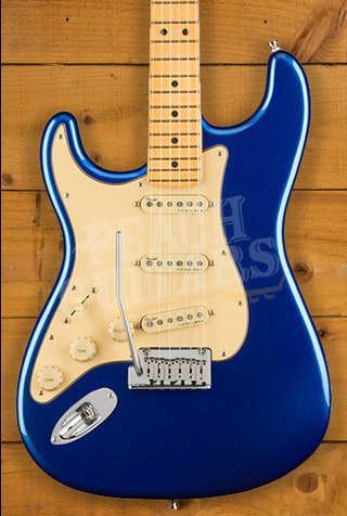 Fender American Ultra Strat LH Maple Cobra Blue