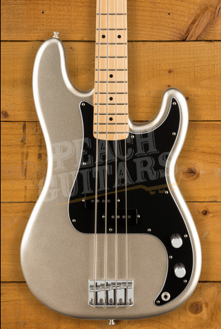 Fender 75th Anniversary Diamond P Bass - Platinum