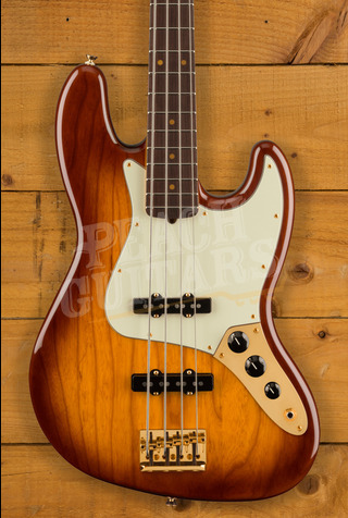 Fender 75th Anniversary Commemorative J Bass RW VIB