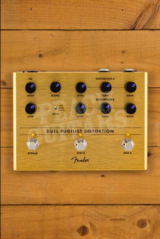 Fender Duel Pugilist Distortion Pedal