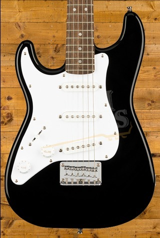 Squier Mini Stratocaster Left-Handed Laurel Fingerboard Black