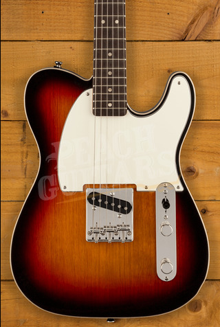 Squier FSR Classic Vibe '60s Custom Esquire 3-Colour Sunburst