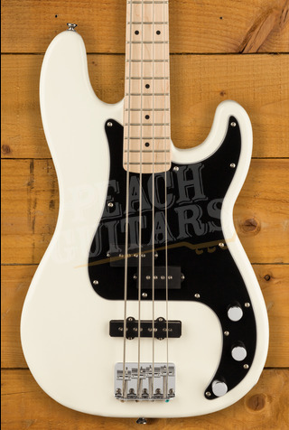 Squier Affinity P-Bass Maple Olympic White