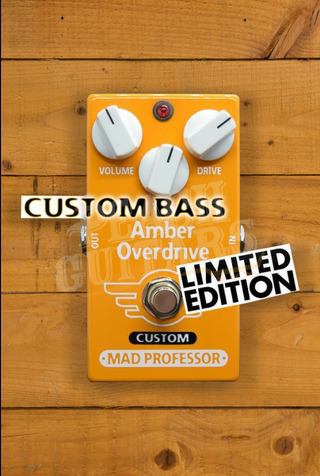 Mad Professor Amber Overdrive Custom for Bass (Limited Edition)