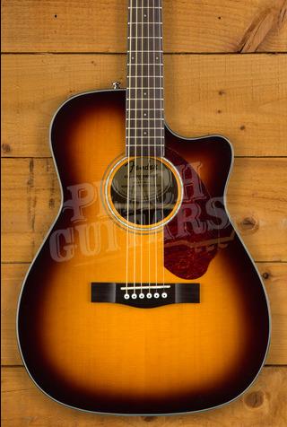 Fender CC-140SCE Concert  SB w/case