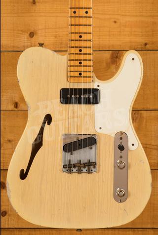 Fender Custom Shop Limited P90 Tele Relic Thinline Natural