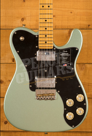 Fender American Professional II Telecaster Deluxe Mystic Surf Green Maple
