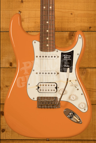 Fender Player Series Strat HSS Pau Ferro Capri Orange