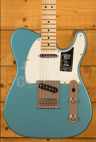 Fender Player Series Tele Maple Neck Tide Pool Blue