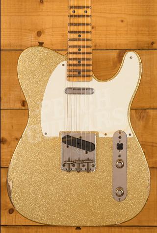 Fender Custom Shop Limited '55 Tele Relic Aged Gold Sparkle