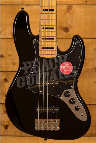 Squier Classic Vibe 70s Jazz Bass V Maple Neck Black